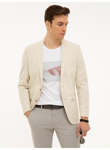 Cacharel Ceket Beyaz